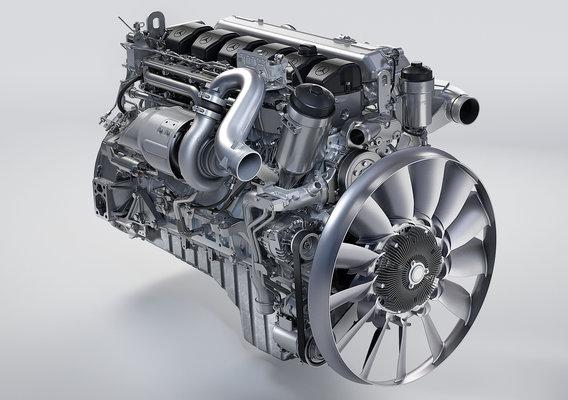 Mercedes Truck Engine