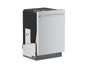 Samsung Top Control Dishwasher with StormWash 3D model