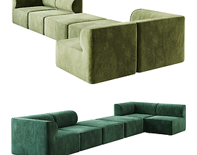 3D model Eave Modular Sofa option 03