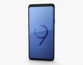 Samsung Galaxy S9 Plus Coral Blue 3D