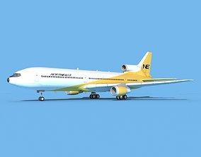 3D Lockheed L-1011 Northeast