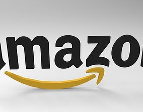 3D model Amazon Logo