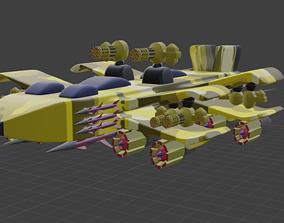 War Plane 3D model sports