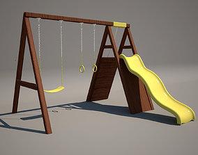 Playground 3D model child