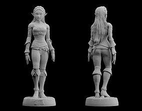 Zelda Breath of the Wild Model files Statue Figure 1