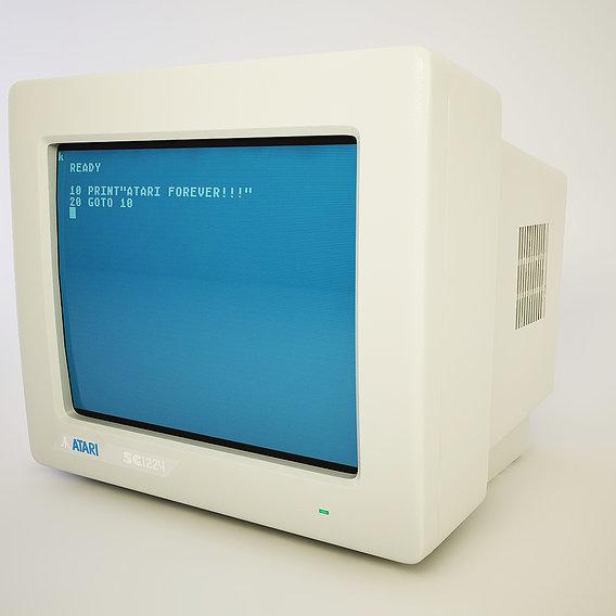 Atari monitor
