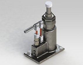 Protec 7-9 hydraulic lifter 3D model