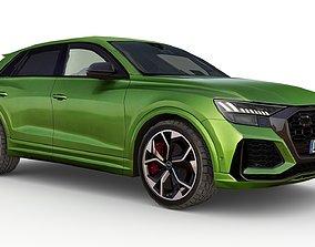 Audi RS Q8 2020 3D model game-ready
