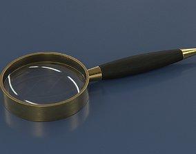 fashionable PBR magnifier 3D model