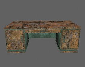 desk 2 3D asset low-poly