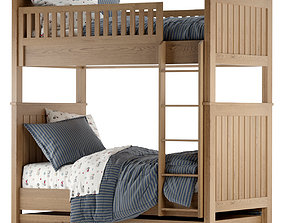 RH Baby and Child Kenwood Bunk bed 3D model