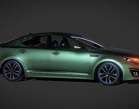 Auto Kia optima 3D model game-ready