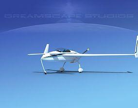 Rutan VariEze V09 3D