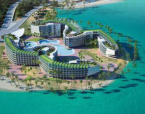3D model EPD Resort Hotel