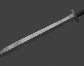 3D model Xiphos Short One-Handed Sword