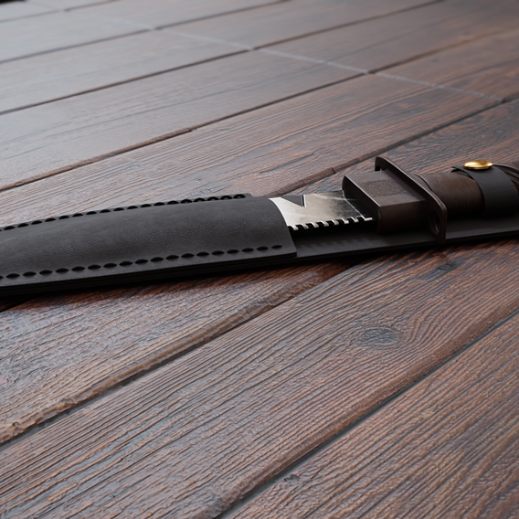 Hunting Knife Game Asset
