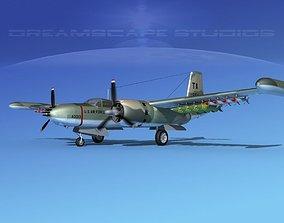 3D Douglas A-26K Invader USAF Vietnam 3