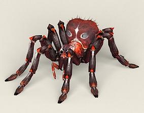 Game Ready Fantasy Spider 3D asset