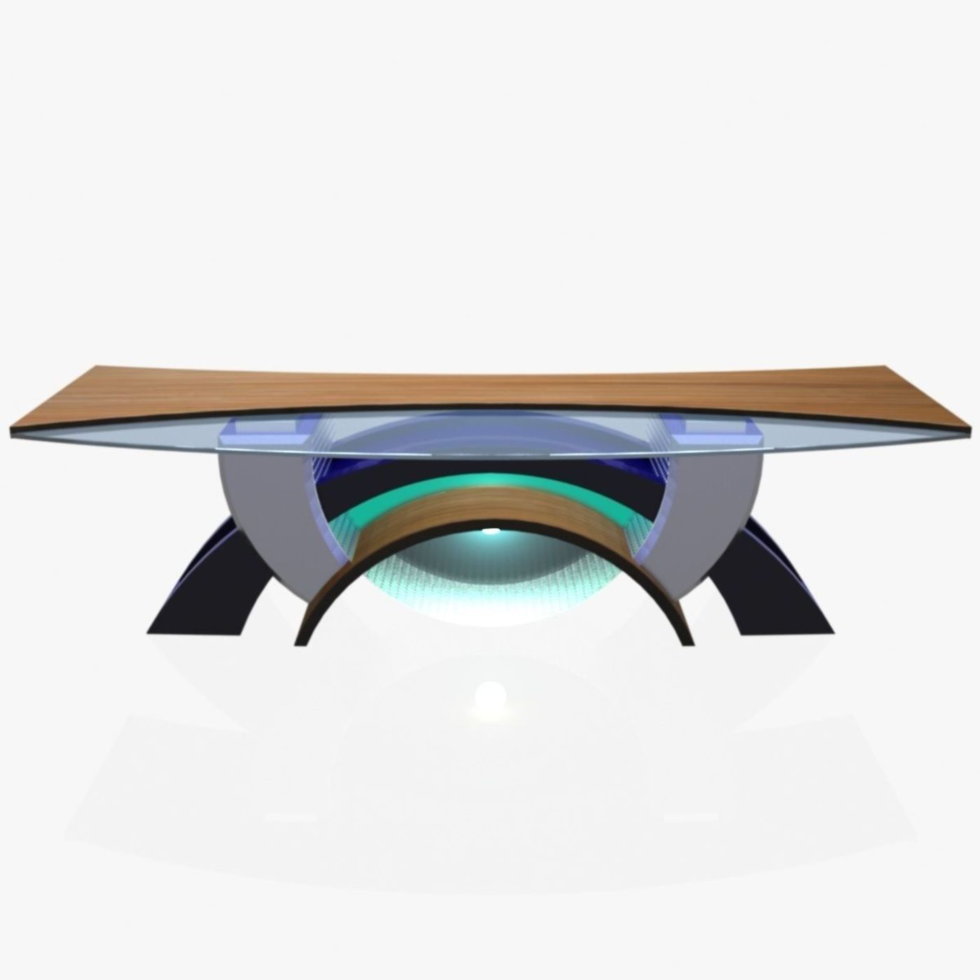 3D TV Studio News Desk 2