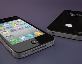 IPhone 4S High Poly 3D