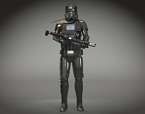 3D StarWars Death Trooper