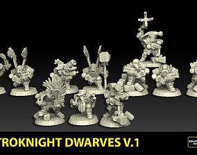 Astroknight Dwarves Megapack Version 1 3D print model