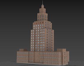 3D asset Academy of Sciencies in Riga