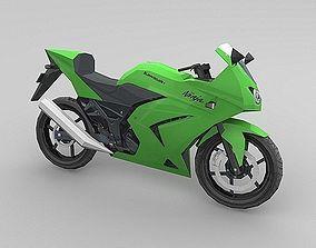 3D model Kawasaki Ninja 250R