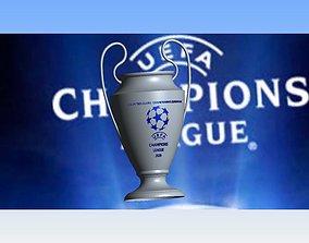 3D print model cup champions