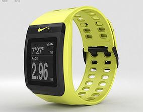 Nike SportWatch GPS Volt Black 3D model
