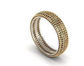 3D printable model Ultra Vision Ring silver