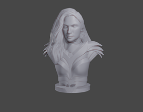 3D print model Wonder Woman 1984 bust