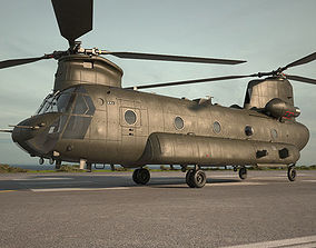 Boeing CH-47 Chinook 3D