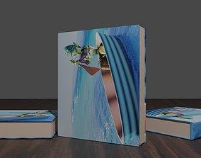 household books 3D model