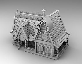 Slavic house 3D print model