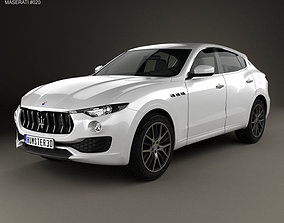 3D Maserati Levante 2017