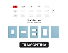 Tramontina Liz Collection Blue Jeans 3D