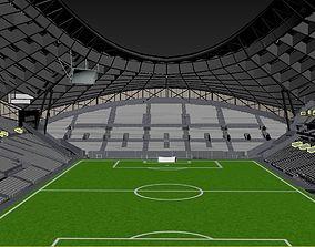 3D model Stade Velodrome Marseille stadium