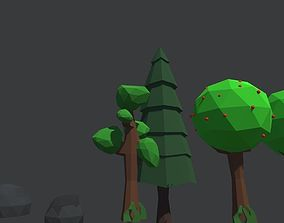 3D printable model Low Poly Plants