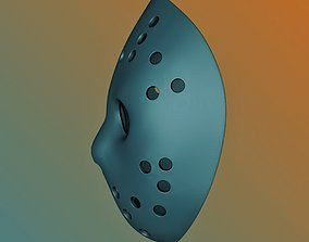 Jason Voorhes mask for 3D printing Hockey mask