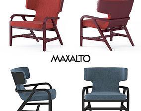 3D MAXALTO Fulgens armchair
