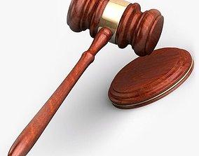Law Gavel 3D model