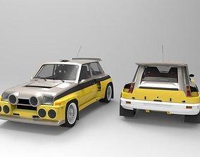 3D model Renault 5 Turbo II
