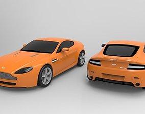 3D asset 2008 Aston Martin V8 Vantage N400