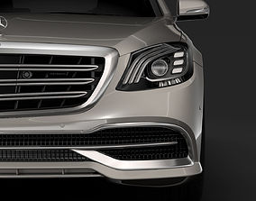 Mercedes Maybach S 560 4Matic X222 2018 3D model