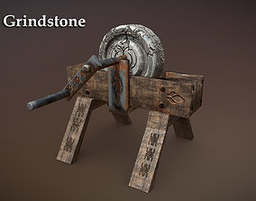 3D asset VR / AR ready Grindstone