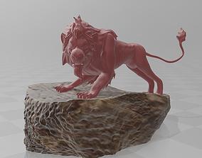 Scar Lion king 3D print model