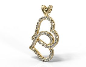 3D printable model Women Female Necklace Bella 54 Diamond
