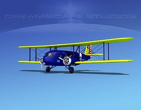 3D model Curtiss Condor US Navy