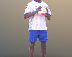 3D asset Bruce 10385 - Soccer Man